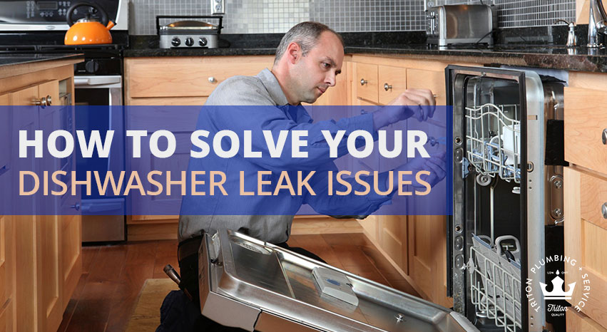How To Solve Your Dishwasher Leak Issues | Triton Plumbing Service London Ontario Plumber