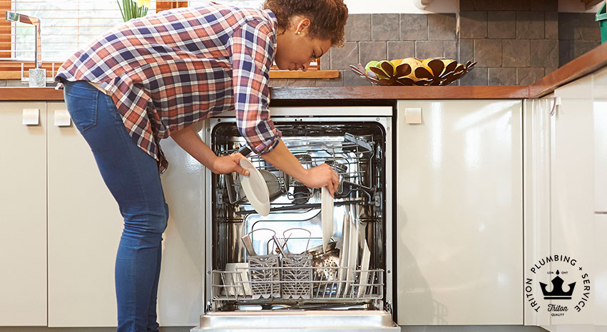 Solve dishwasher leak issues | Triton Plumbing Service London Ontario Plumber