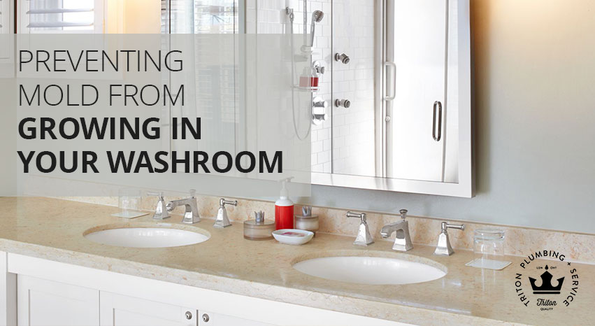 Preventing Mold From Growing In Your Washroom | Triton Plumbing Service London Ontario Plumber